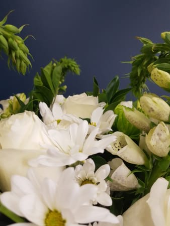 florist choice - white bouquet