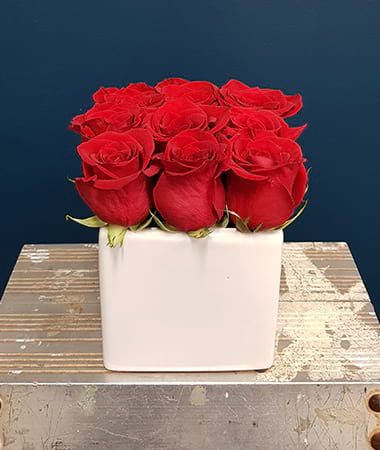 Princess Cut Roses In Red
