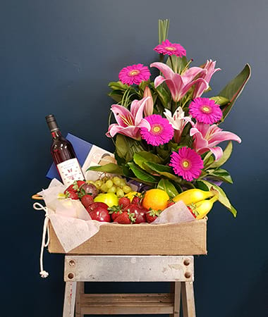 Victoria Rose Gift Basket