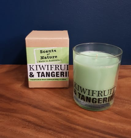 Kiwi Fruit and Tangerine Candle