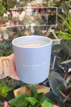 Cotton Flower, Freesia Candle