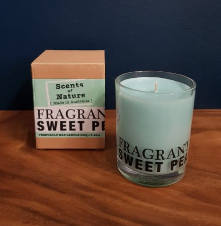 Fragrant Sweet Pea Candle